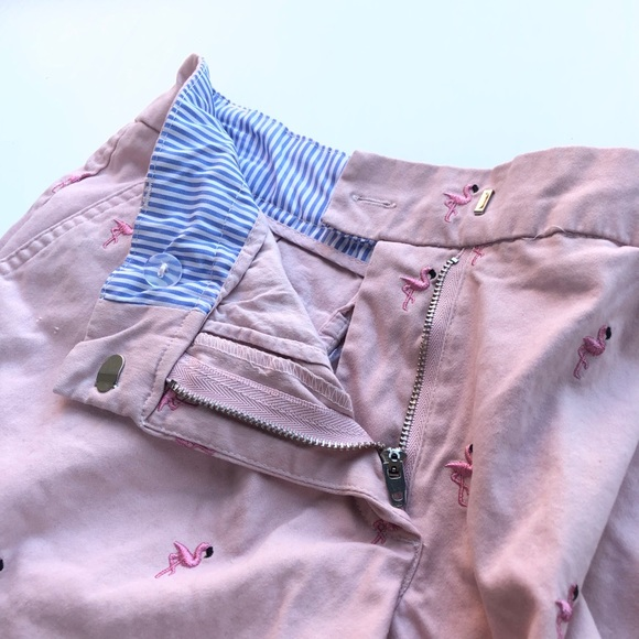 Vintage Flamingo Shorts - Cambridge Dry Goods